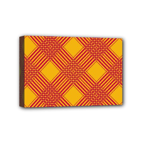 Pattern Mini Canvas 6  X 4  by Valentinaart