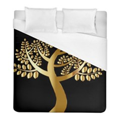 Abstract Art Floral Forest Duvet Cover (full/ Double Size) by Simbadda