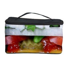Abstract Barbeque Bbq Beauty Beef Cosmetic Storage Case by Simbadda
