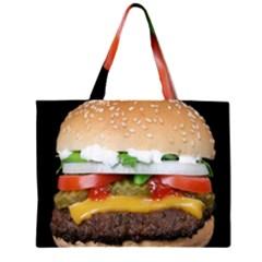 Abstract Barbeque Bbq Beauty Beef Zipper Large Tote Bag by Simbadda