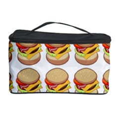 Hamburger Pattern Cosmetic Storage Case