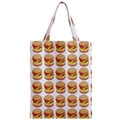 Hamburger Pattern Classic Tote Bag by Simbadda