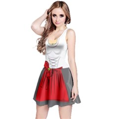 2d Cosplay Clothes Reversible Sleeveless Dress
