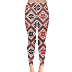 Folklore Leggings  by Valentinaart