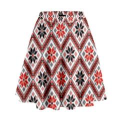 Folklore High Waist Skirt by Valentinaart
