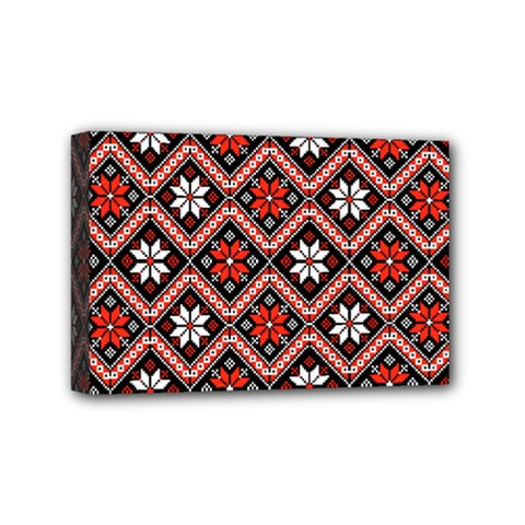 Folklore Mini Canvas 6  X 4  by Valentinaart