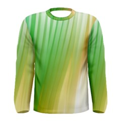 Folded Digitally Painted Abstract Paint Background Texture Men s Long Sleeve Tee