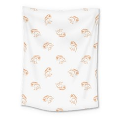 Birds Sketch Pattern Medium Tapestry by dflcprints