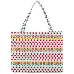 Ladybugs And Flowers Mini Tote Bag by Valentinaart