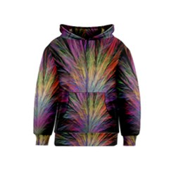 Fractal In Many Different Colours Kids  Pullover Hoodie