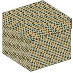 Abstract Seamless Pattern Storage Stool 12   by Simbadda