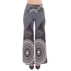 Abstract Mandala Background Pattern Pants by Simbadda