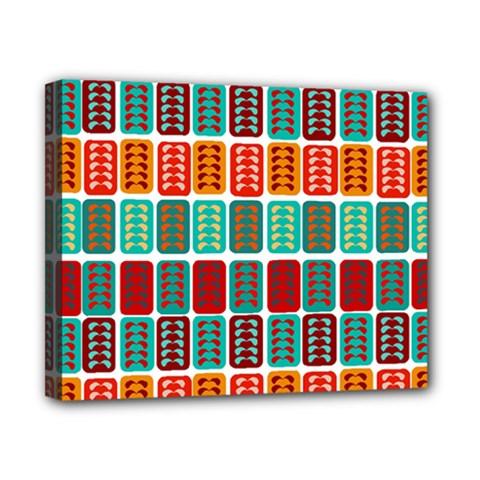 Bricks Abstract Seamless Pattern Canvas 10  X 8  by Simbadda