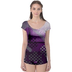 Evil Moon Dark Background With An Abstract Moonlit Landscape Boyleg Leotard