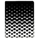 Halftone Gradient Pattern Apple iPad Mini Flip Case View1