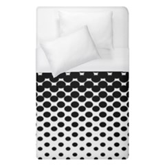 Halftone Gradient Pattern Duvet Cover (single Size) by Simbadda