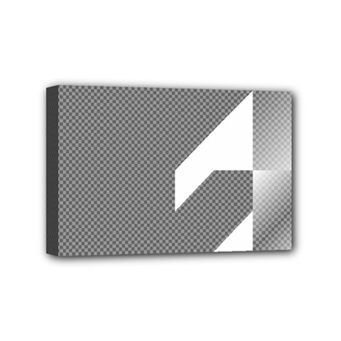 Gradient Base Mini Canvas 6  X 4  by Simbadda