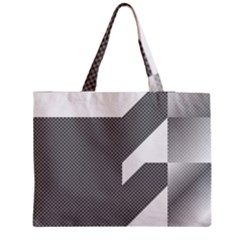 Gradient Base Medium Zipper Tote Bag by Simbadda