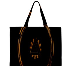 Geometry Interfaces Deus Ex Human Revolution Deus Ex Penrose Triangle Zipper Mini Tote Bag