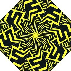 Pattern Abstract Hook Handle Umbrellas (large) by Simbadda