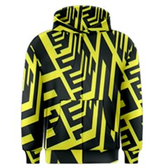 Pattern Abstract Men s Zipper Hoodie by Simbadda