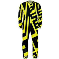 Pattern Abstract Onepiece Jumpsuit (men)