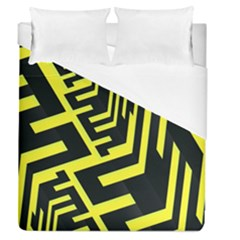 Pattern Abstract Duvet Cover (queen Size) by Simbadda