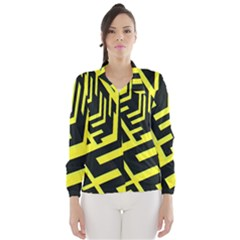 Pattern Abstract Wind Breaker (women)