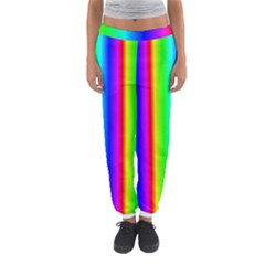 Rainbow Gradient Women s Jogger Sweatpants by Simbadda