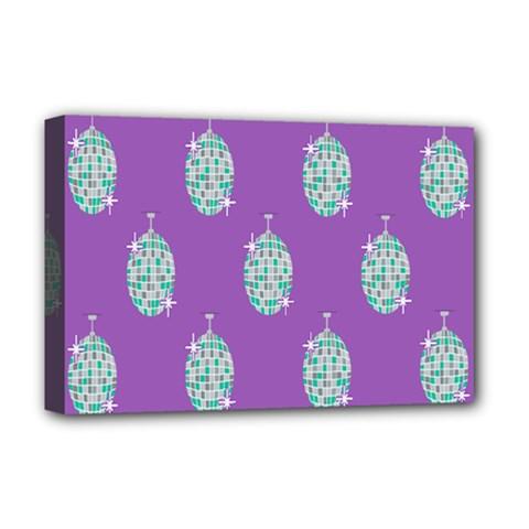 Disco Ball Wallpaper Retina Purple Light Deluxe Canvas 18  X 12