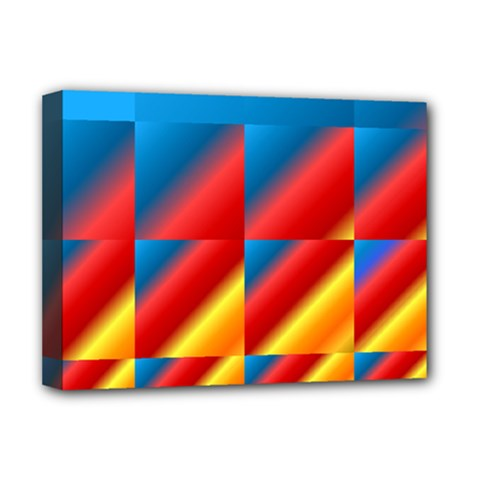 Gradient Map Filter Pack Table Deluxe Canvas 16  X 12   by Simbadda