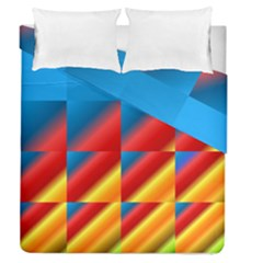 Gradient Map Filter Pack Table Duvet Cover Double Side (queen Size)