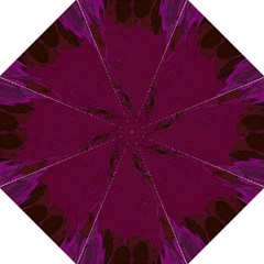 Abstract Purple Pattern Hook Handle Umbrellas (large) by Simbadda
