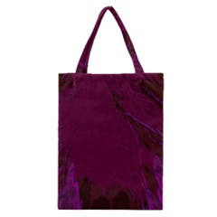 Abstract Purple Pattern Classic Tote Bag by Simbadda