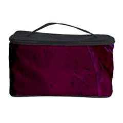 Abstract Purple Pattern Cosmetic Storage Case by Simbadda