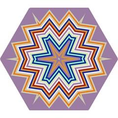 Chevron Wave Color Rainbow Triangle Waves Grey Mini Folding Umbrellas by Alisyart