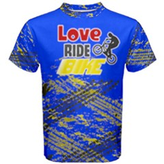 Love ride Bike Fitness Men s Cotton Tee