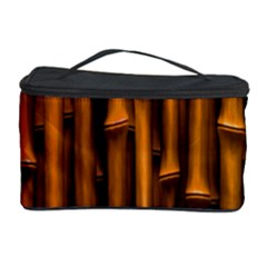 Abstract Bamboo Cosmetic Storage Case