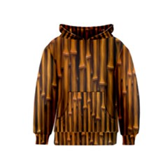 Abstract Bamboo Kids  Pullover Hoodie