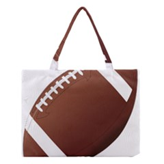 Football American Sport Ball Medium Tote Bag by Alisyart