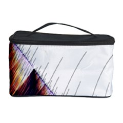 Abstract Lines Cosmetic Storage Case by Simbadda