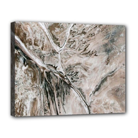 Earth Landscape Aerial View Nature Canvas 14  X 11  by Simbadda