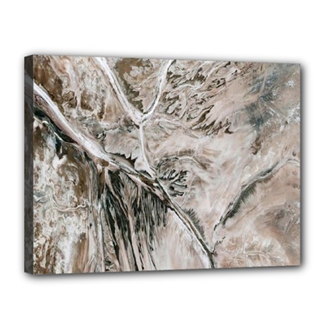 Earth Landscape Aerial View Nature Canvas 16  X 12  by Simbadda