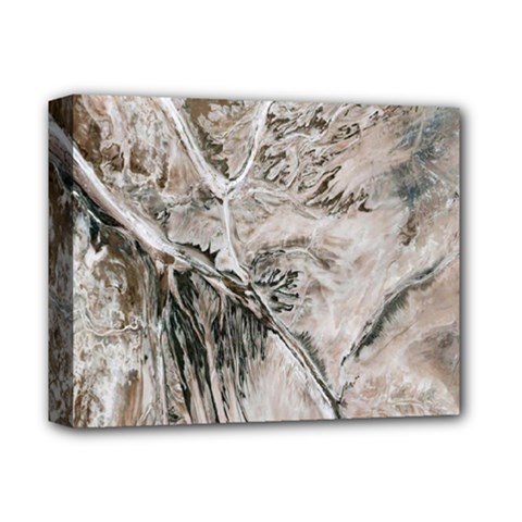Earth Landscape Aerial View Nature Deluxe Canvas 14  X 11  by Simbadda