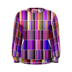 Plasma Gradient Gradation Women s Sweatshirt