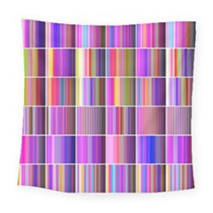 Plasma Gradient Gradation Square Tapestry (large) by Simbadda
