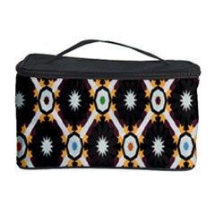 Flower Floral Line Star Sunflower Cosmetic Storage Case by Alisyart