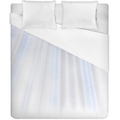 Layer Light Rays Purple Blue Duvet Cover (california King Size) by Alisyart