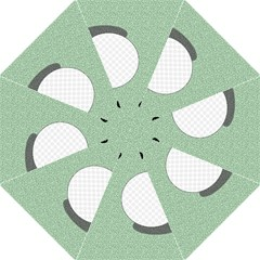 Golf Image Ball Hole Black Green Hook Handle Umbrellas (medium) by Alisyart