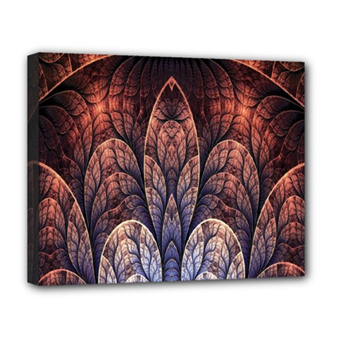 Abstract Fractal Deluxe Canvas 20  X 16   by Simbadda
